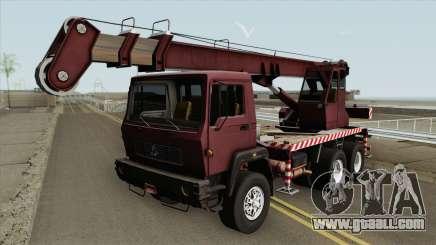 Crane Truck for GTA San Andreas
