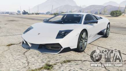 Lamborghini Murcielago LP670-4 SV 2010 for GTA 5