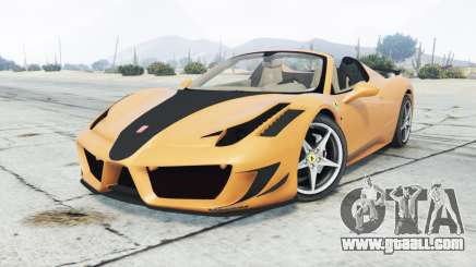 Ferrari 458 Spider Mansory Monaco Edition 2012 for GTA 5
