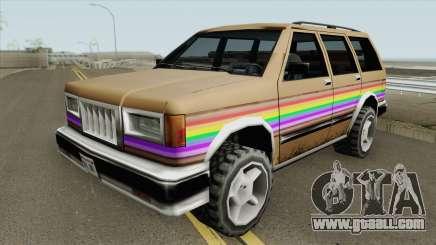 Landstalker Rainbow for GTA San Andreas