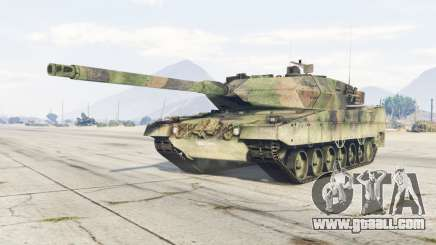 Leopard 2A6 for GTA 5