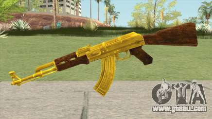 COD: MW1 AK-47 (Gold) for GTA San Andreas