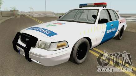 Ford Crown Victoria Magyar Rendorseg for GTA San Andreas