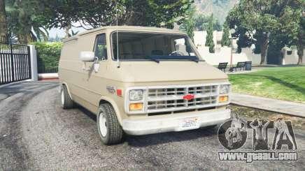Chevrolet G20 Van grain brown for GTA 5