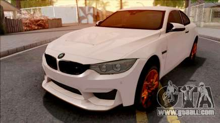 BMW M4 GTS White for GTA San Andreas