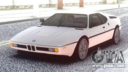 BMW M1 E26 for GTA San Andreas