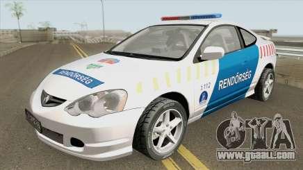 Acura RSX Magyar Rendorseg for GTA San Andreas