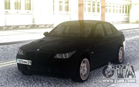BMW M5 E60 M for GTA San Andreas