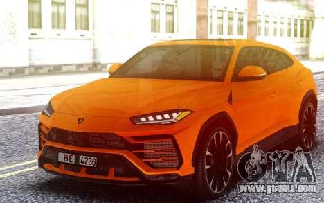 Lamborghini Urus for GTA San Andreas