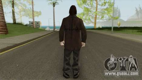 Urban Male Criminal (Dark Brown Leather Jacket) for GTA San Andreas
