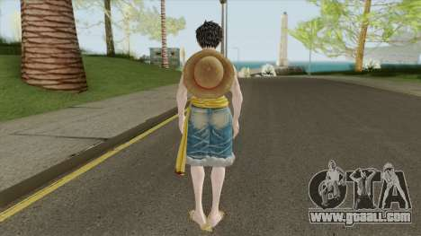Monkey D Luffy for GTA San Andreas