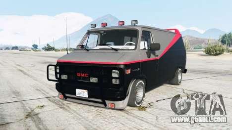 GMC Vandura A-Team Van