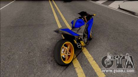 Yamaha R25 Modif Version for GTA San Andreas