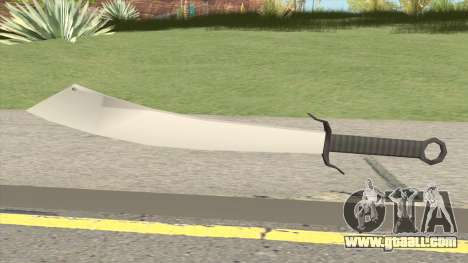 Chinese Sword (WW2) for GTA San Andreas