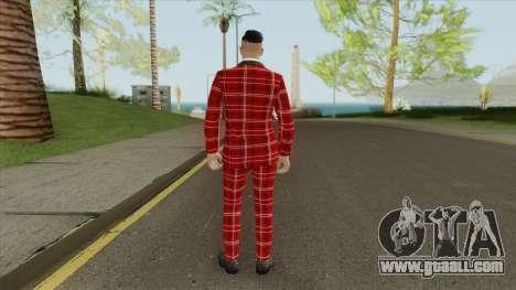 Male Skin V1 (Casino And Resort) for GTA San Andreas