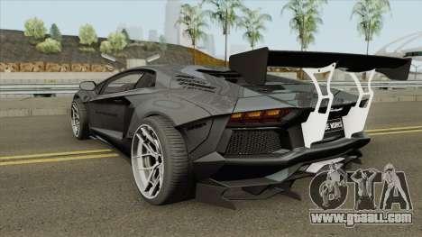 Lamborghini Aventador LP700-4 Liberty Walk 2012 for GTA San Andreas
