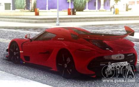 2020 Koenigsegg Jesko for GTA San Andreas
