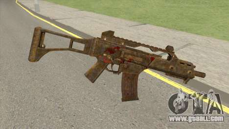 G36C BE13 for GTA San Andreas
