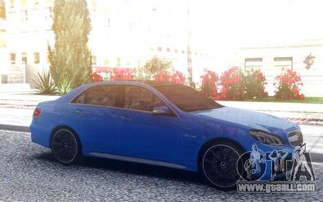 Mercedes-Benz E-63 AMG for GTA San Andreas