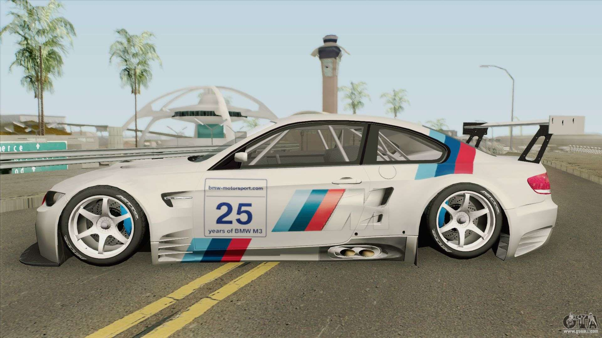 Bmw M3 Gt2 Alms 2010 For Gta San Andreas