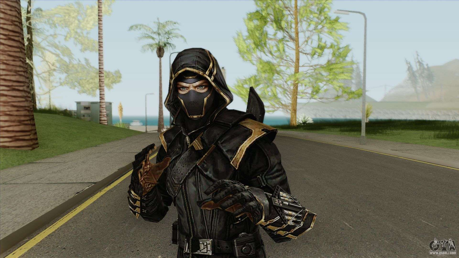 Ronin Skin From Avengers End Game For GTA San Andreas