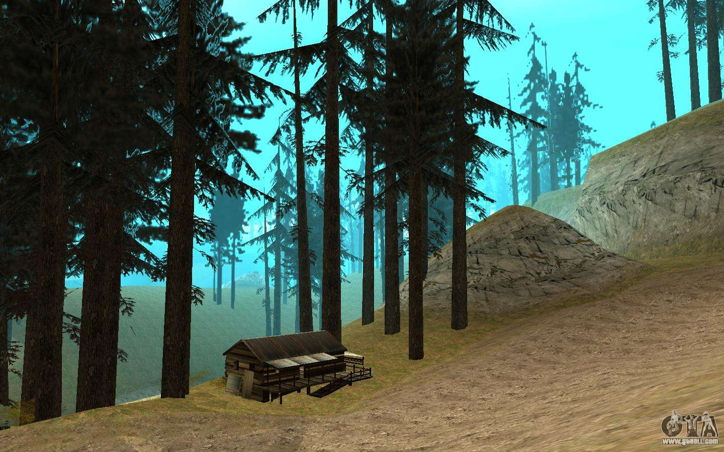 The birds singing in the forest for GTA San Andreas