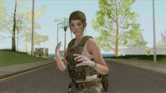 Claire Redfield Military (RE2 Remake) for GTA San Andreas