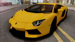 Lamborghini Aventador LP700-4 2011 Yellow for GTA San Andreas