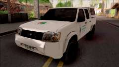 Nissan Frontier Srednjobosanske Sume for GTA San Andreas