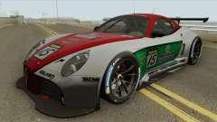 Alfa Romeo 8C Competizione GT3 2009 for GTA San Andreas