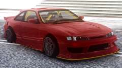Nissan Silvia S14 Kouki Red for GTA San Andreas