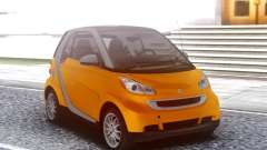 Smart ForTwo Orange for GTA San Andreas