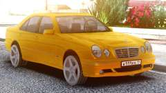 Mercedes-Benz E55 W210 Yellow for GTA San Andreas