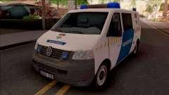 Volkswagen Transporter 5 Magyar Rendorseg for GTA San Andreas