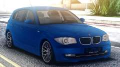 BMW 120i Blue for GTA San Andreas