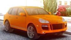Porsche Cayenne Turbo S Orange for GTA San Andreas