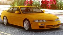 Nissan Silvia S14 Zenki Yellow for GTA San Andreas