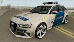 Audi RS4 Avant Magyar Rendorseg for GTA San Andreas