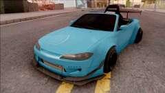 Nissan Silvia S15 Rocket Bunny Kart for GTA San Andreas