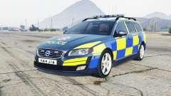 Volvo V70 2014 Essex Police for GTA 5