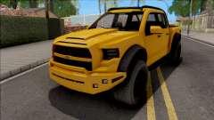 GTA V Vapid Caracara 4x4 IVF for GTA San Andreas