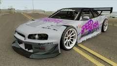 Nissan Skyline GT-R R34 R3 1999 for GTA San Andreas