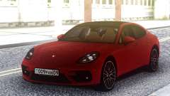 Porsche Panamera Turbo Red for GTA San Andreas