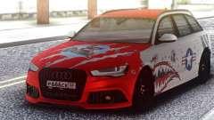 Audi RS 6 Beaten but not broken for GTA San Andreas