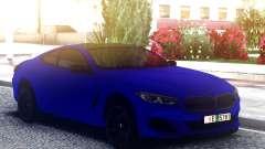 BMW 850i Blue for GTA San Andreas