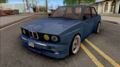 BMW E30 Fully Tunable IVF Lowpoly for GTA San Andreas