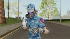 Creative Destruction - Blue Warrior for GTA San Andreas