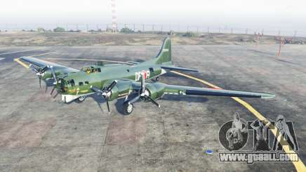 Boeing B-17 Flỿing Fortress for GTA 5