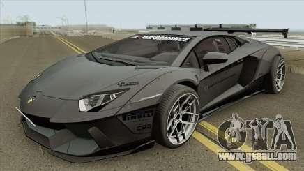Lamborghini Aventador LP700-4 Liberty Walk 2012 for GTA San Andreas