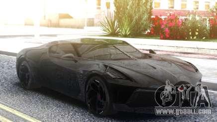 Bugatti La Voiture Noire 2019 for GTA San Andreas